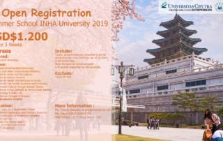 Summer School INHA University Korea
