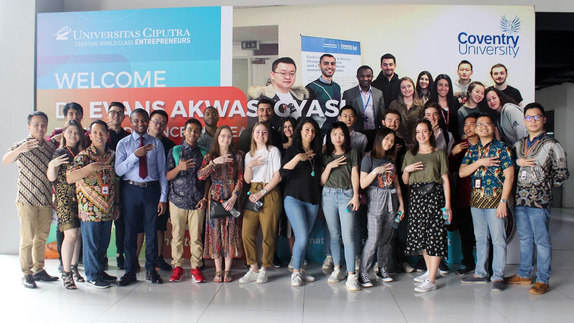 Coventry University UK visit to UC