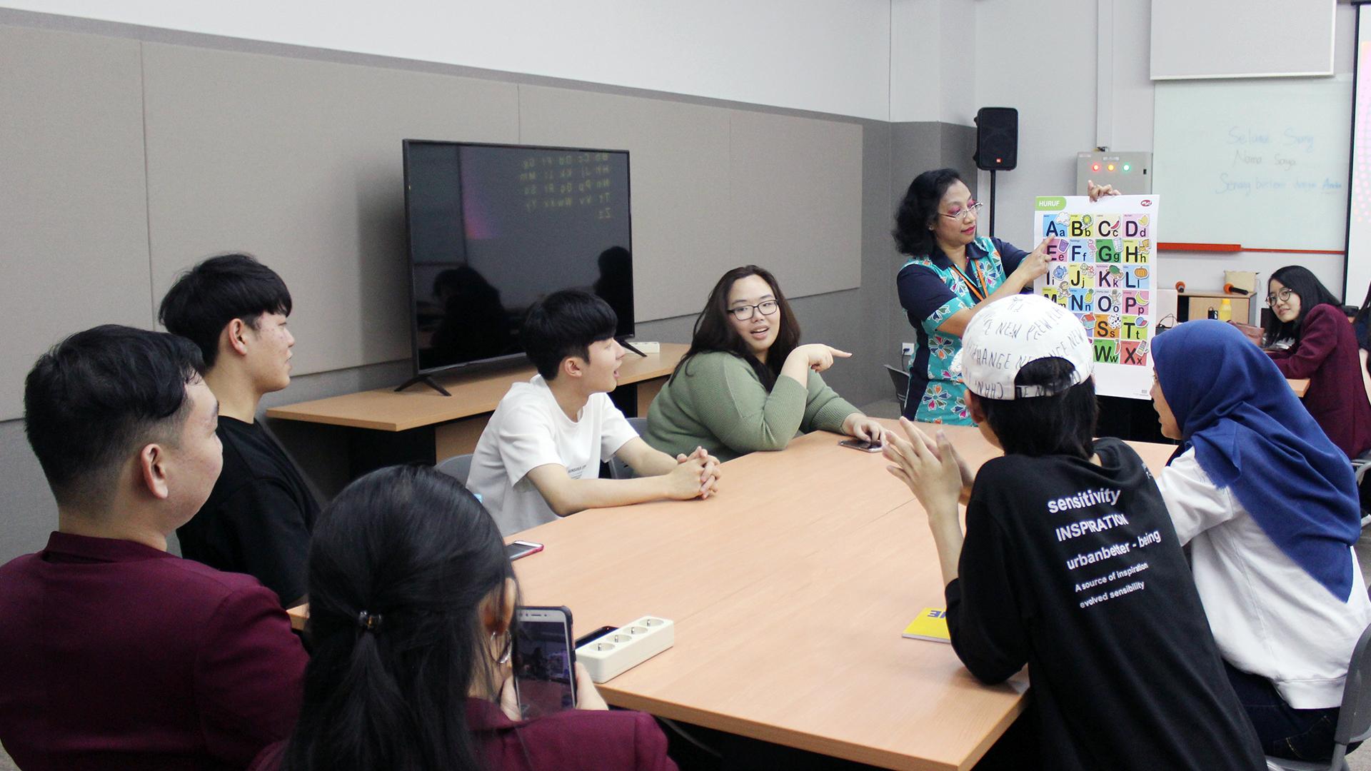 Dongseo Asia Initiatives Program (DAIP 2019) Indonesian Language Class