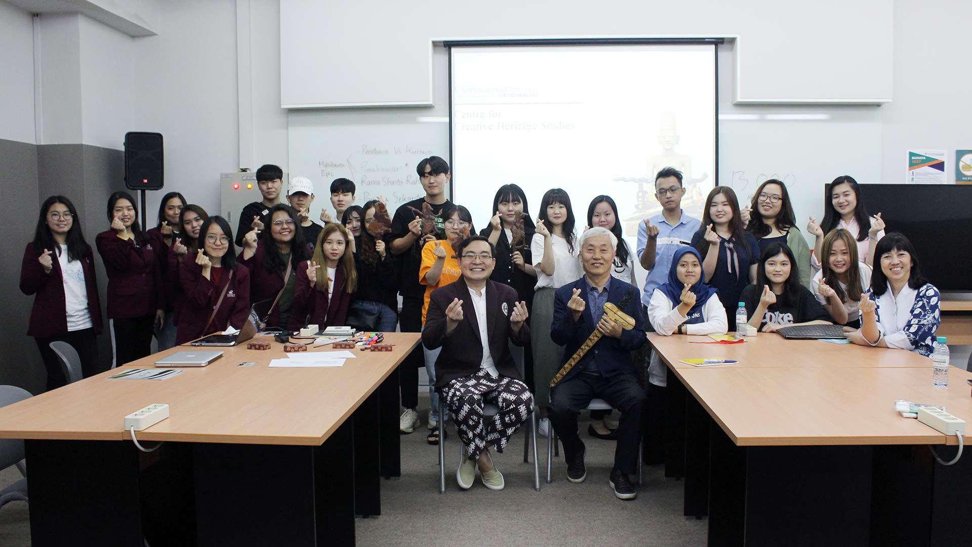 Dongseo Asia Initiatives Program (DAIP 2019) Cultural Class
