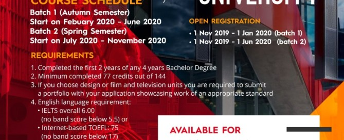 Study Abroad at Swinburne University - Australia 2020!