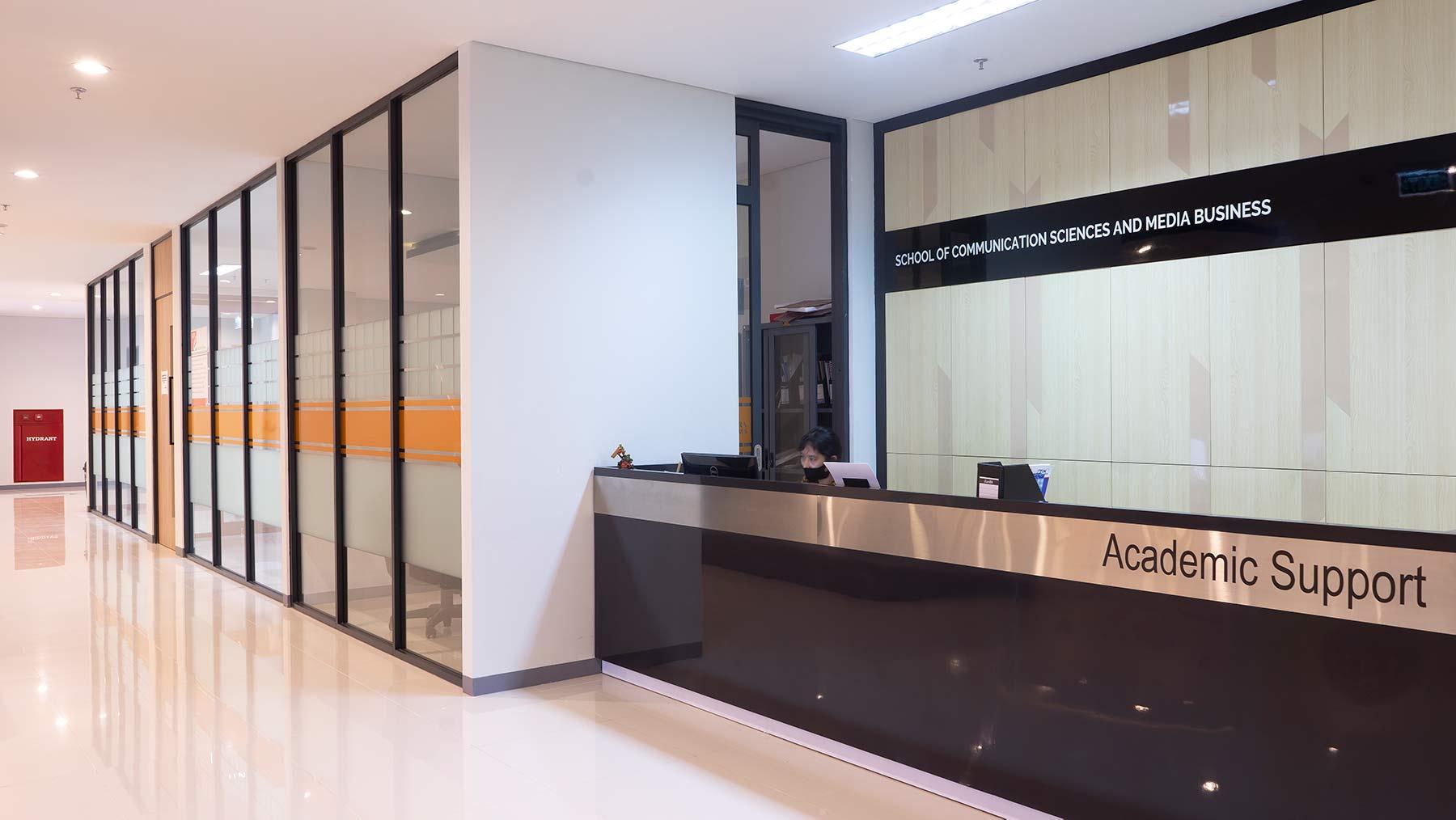 Fakultas Ilmu Komunikasi - School of Communication Facilities